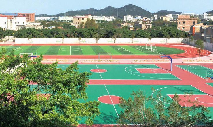 广东55体育直播网 YL-5801 环保型塑胶跑道